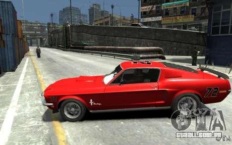 Ford Mustang Fastback 302did Cruise O Matic para GTA 4 esquerda vista