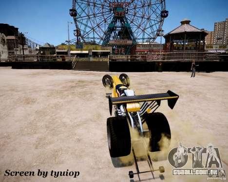 Raketomobil′ para GTA 4 vista superior
