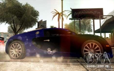 Lensflare para GTA San Andreas quinto tela
