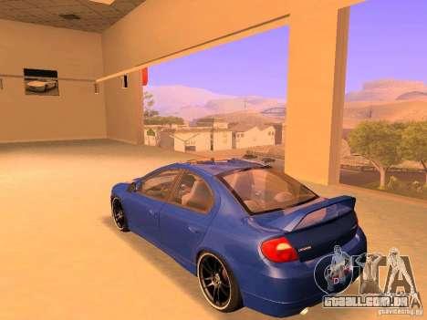 Dodge Neon SRT4 2006 para GTA San Andreas esquerda vista