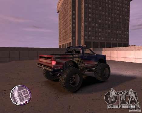 Monster from San Andreas para GTA 4 vista direita
