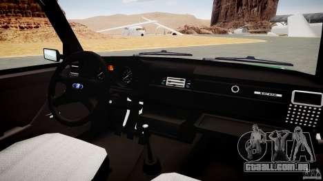 Final VAZ 2104 (cor) para GTA 4 vista de volta