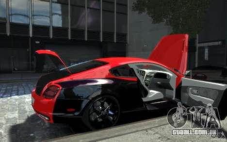 Bentley Continental SS MansorY para GTA 4 rodas