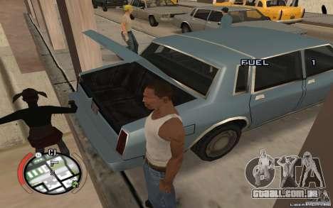Hide Victim para GTA San Andreas terceira tela