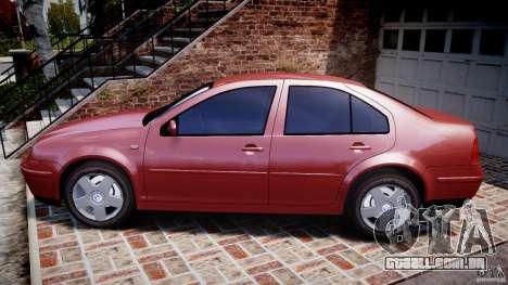 Volkswagen Bora para GTA 4 esquerda vista