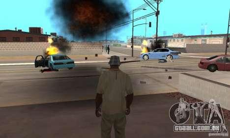 Hot adrenaline effects v1.0 para GTA San Andreas sexta tela