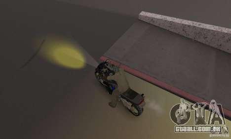 Faróis amarelos para GTA San Andreas terceira tela