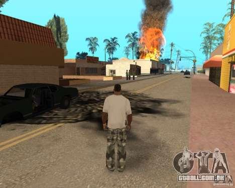 Tornado para GTA San Andreas oitavo tela