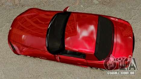 Honda S2000 para GTA 4 vista direita