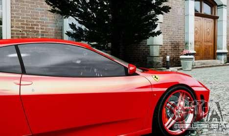 Ferrari F430 para GTA 4 vista de volta