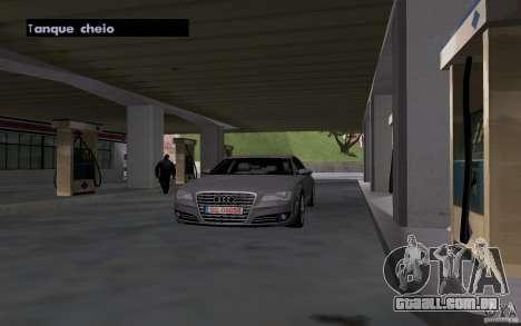 Carro de tanque de gasolina para GTA San Andreas por diante tela