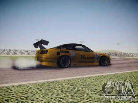 Nissan Silvia S15 Drift para GTA San Andreas vista interior