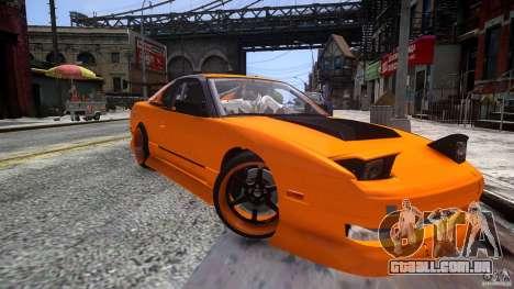Nissan 240SX Korch para GTA 4 vista direita