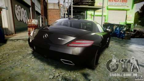 Mercedes-Benz SLS AMG 2010 [EPM] para GTA 4 vista superior
