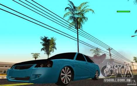 LADA 2170 Penza tuning para GTA San Andreas
