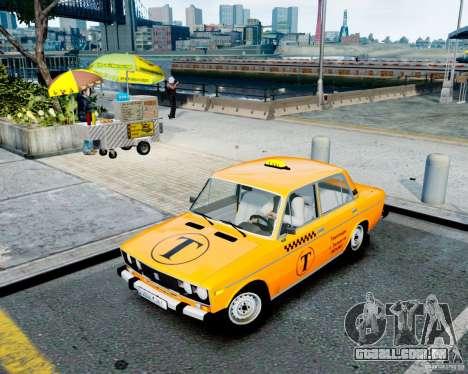 Táxi de 2106 VAZ para GTA 4