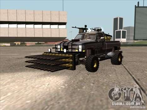 Chevrolet Hunter para GTA San Andreas traseira esquerda vista