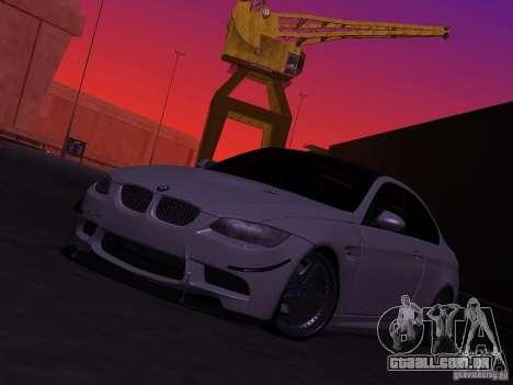 BMW M3 E92 Drift para GTA San Andreas