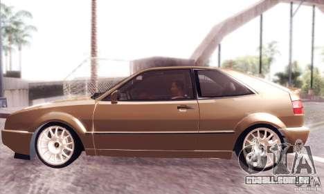 Volkswagen Corrado para GTA San Andreas esquerda vista