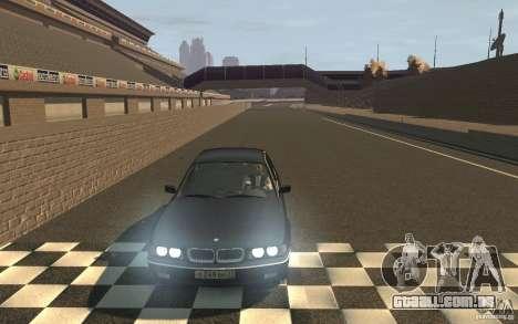 BMW 750i (e38) v2.0 para GTA 4 vista de volta