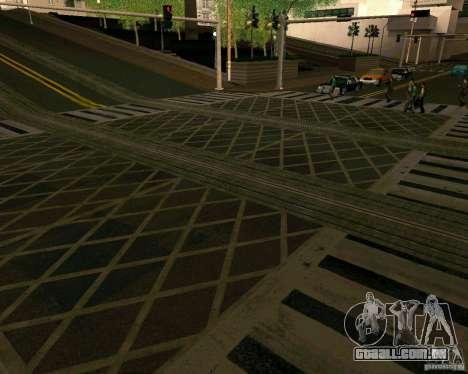 GTA 4 Roads para GTA San Andreas sexta tela