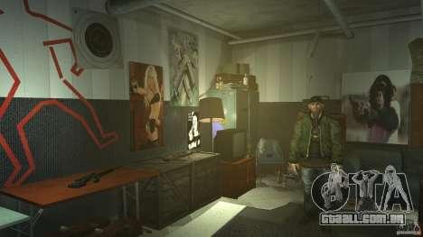 Retextured Broker Gunshop para GTA 4 quinto tela