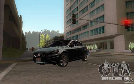 Volvo S60 2011 para GTA San Andreas vista interior