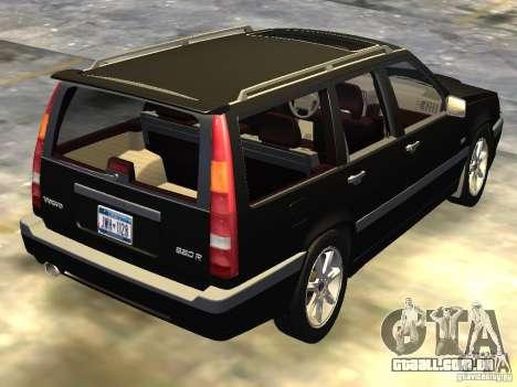Volvo 850 R 1996 Rims 1 para GTA 4 traseira esquerda vista