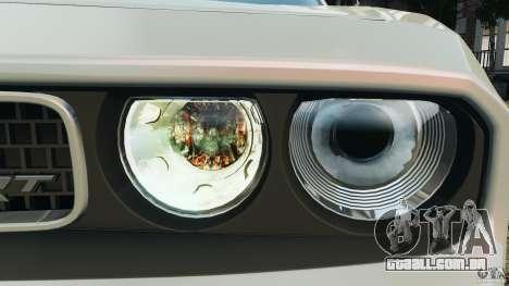 Dodge Challenger SRT8 392 2012 para GTA 4 rodas