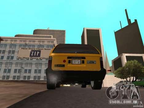 Taxista de GTA 4 para GTA San Andreas esquerda vista