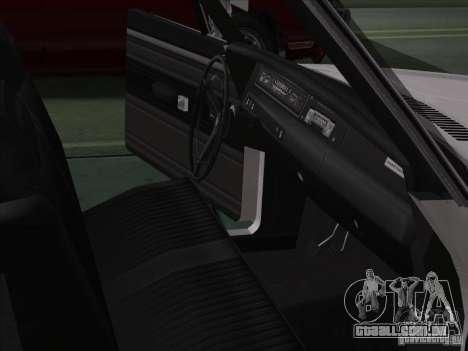 Plymouth Roadrunner 440 para GTA San Andreas vista interior