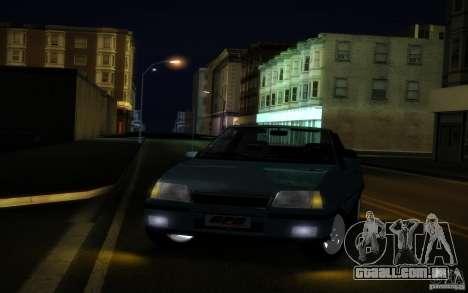 Chevrolet Kadett GSI Cabrio para GTA San Andreas vista interior