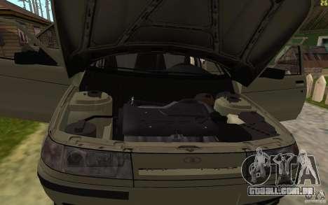 VAZ-21103 para GTA San Andreas vista inferior