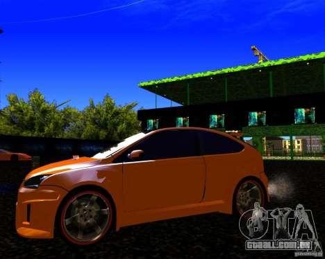 Ford Focus ST Racing Edition para GTA San Andreas vista traseira