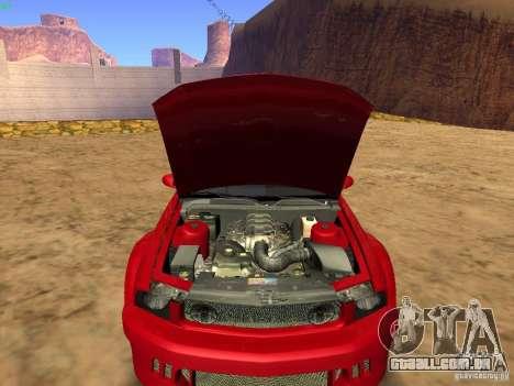 Ford Mustang GT 2005 Tuned para GTA San Andreas vista superior