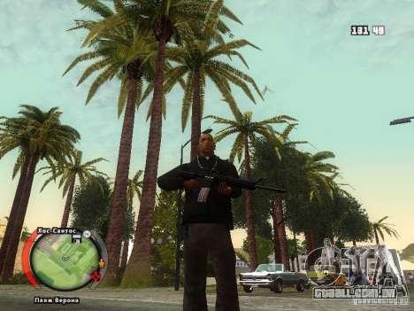 New HUD by shama123 para GTA San Andreas quinto tela