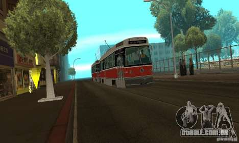 Canadian Light Rail para GTA San Andreas