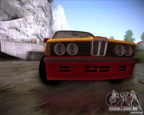 BMW E21 para vista lateral GTA San Andreas