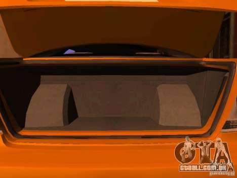 Lexus IS300 Taxi para GTA San Andreas vista traseira