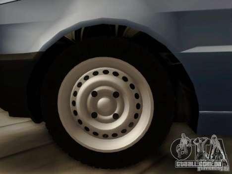 Fiat Premio Edit para GTA San Andreas traseira esquerda vista