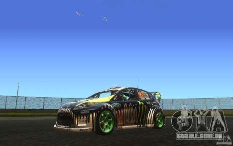 Ford Fiesta Gymkhana para GTA San Andreas