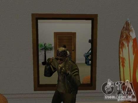 Jaqueta de crânio para GTA San Andreas terceira tela