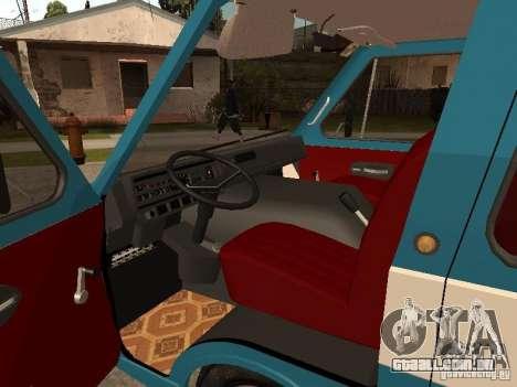 RAPH 2912 para GTA San Andreas vista traseira