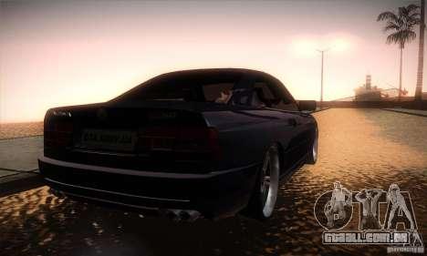 BMW Alpina B12 850i para GTA San Andreas vista direita