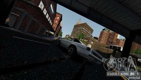 Tampa do GTA EFLC para GTA 4 traseira esquerda vista