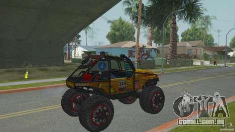 Jeep CJ-7 4X4 para GTA San Andreas vista direita