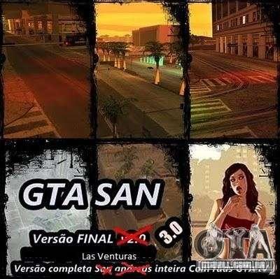 Todas Ruas v3.0 (Las Venturas) para GTA San Andreas