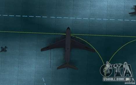 IL 78 petroleiro para GTA San Andreas vista direita
