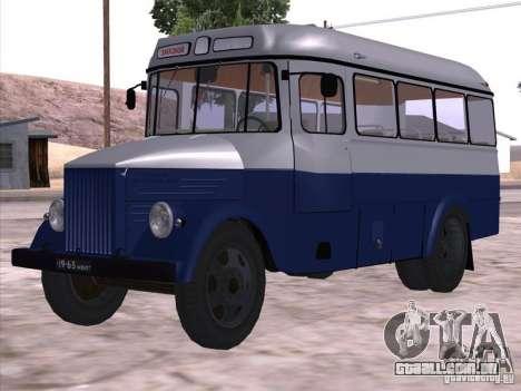 KAVZ 651A para GTA San Andreas