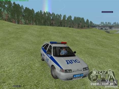 LADA 2112 DPS polícia para GTA San Andreas